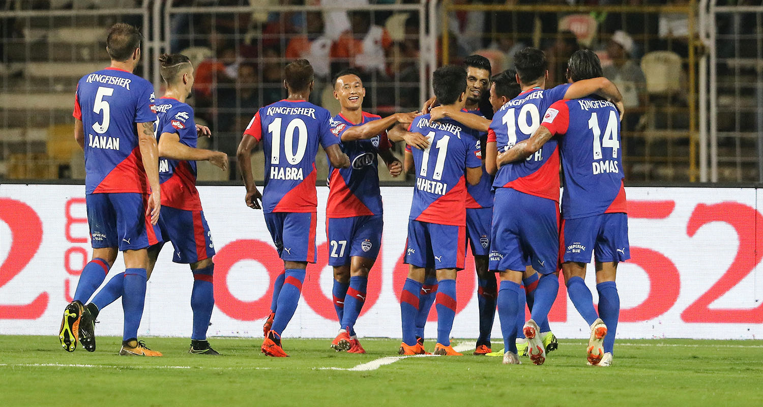 ISL 2018-19: Bengaluru FC beat FC Goa in a topsy-turvy top of the